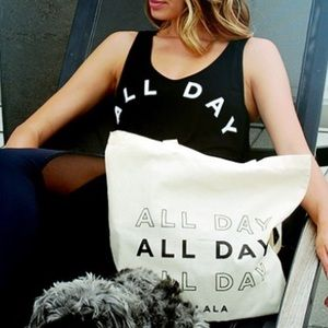 New Alala 'All Day' canvas tote bag